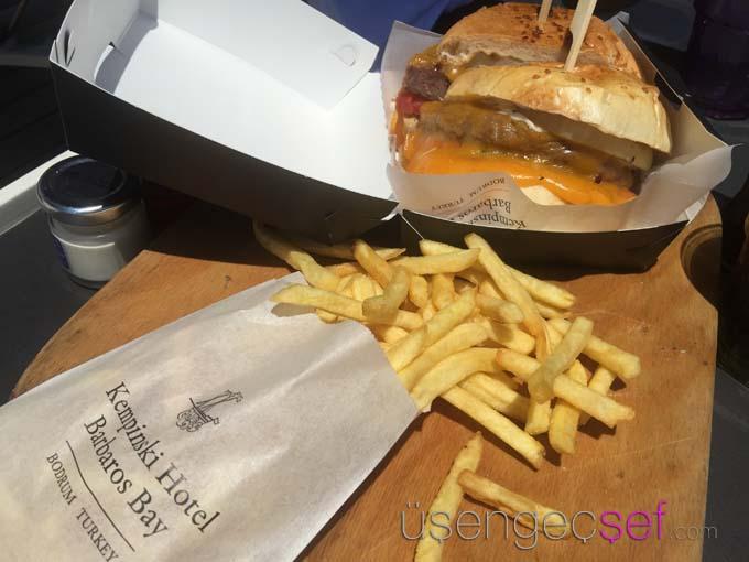 kempinski-hotel-bodrum-cheeseburger