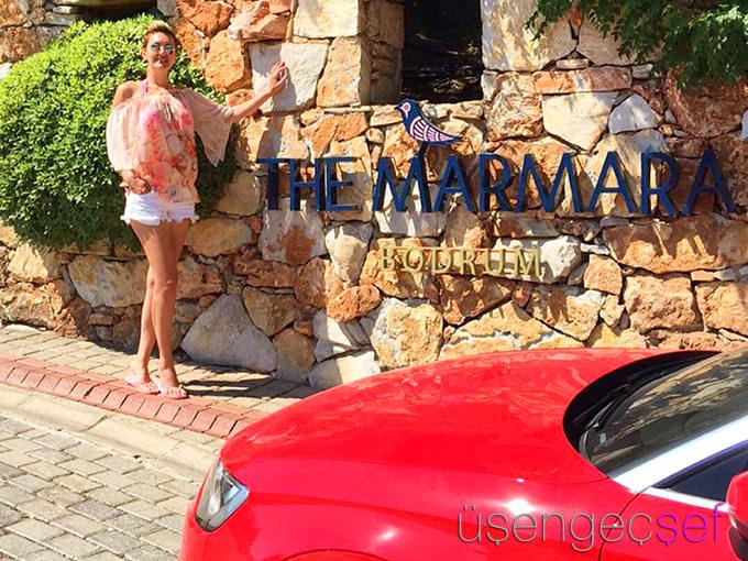 the-marmara-bodrum-hotel-usengec-sef-audi-a3-araba